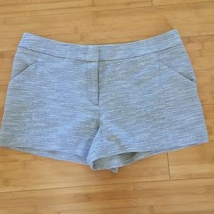 Ann Taylor Womens Mint Condition Gray Shorts Sz 10